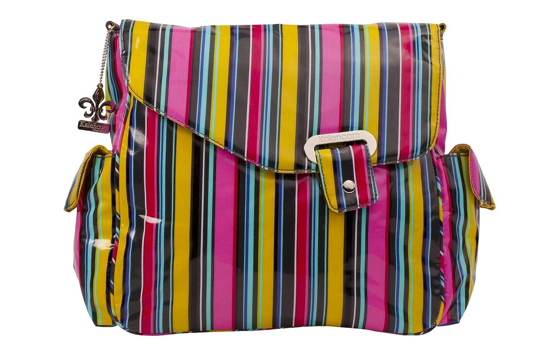 (訳ありセール 格安) Kalencom Ozz Kalencom Coated New Stripes Flap Bag, Petal Ozz Stripes by Kalencom B0028GZ0UO, 太田町:e2ea344d --- hohpartnership-com.access.secure-ssl-servers.biz
