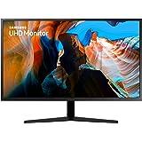Samsung 32 inch UJ59 4k monitor (LU32J590UQNXZA) - UHD, 3840 x 2160p, 60hz, 4ms, Dual monitor, laptop monitor, monitor stand