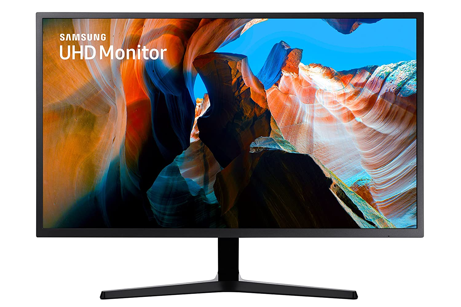 Samsung 32-inch (80.01cm) Flat UHD Monitor with 178 Degree Viewing Angle - LU32J590UQWXXL