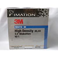 """Imation 3M Formatted High Density 3.5"""" Diskettes 1.44 MB"""