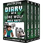 Diary of a Minecraft Lone Wolf BOX SET - 4 Book Collection 1: Unofficial Minecraft Books for Kids, Teens, & Nerds - Adventure