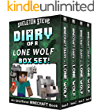 Diary of a Minecraft Lone Wolf BOX SET - 4 Book Collection 1: Unofficial Minecraft Books for Kids, Teens, & Nerds…