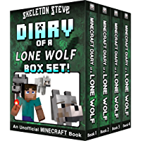 Diary of a Minecraft Lone Wolf BOX SET - 4 Book Collection 1: Unofficial Minecraft Books for Kids, Teens, & Nerds - Adventure Fan Fiction Diary Series ... - Bundle Box Sets 7) (English Edition)