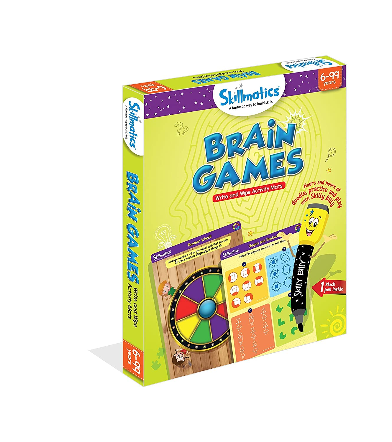 Skillmatics Educational Game: Brain Games (6-99 Years)   Fun Learning Games  and Activities for Kids