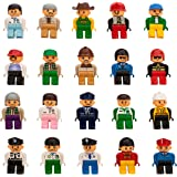 Smart Builder Toys 20 Unique Figures Duplo Compatible