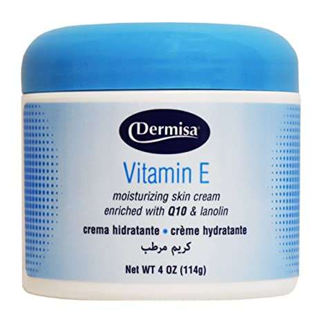 dermisa crema hidratante Enrichie a la Vitamina E y AU Coenzima Q10 – Maceta de 120