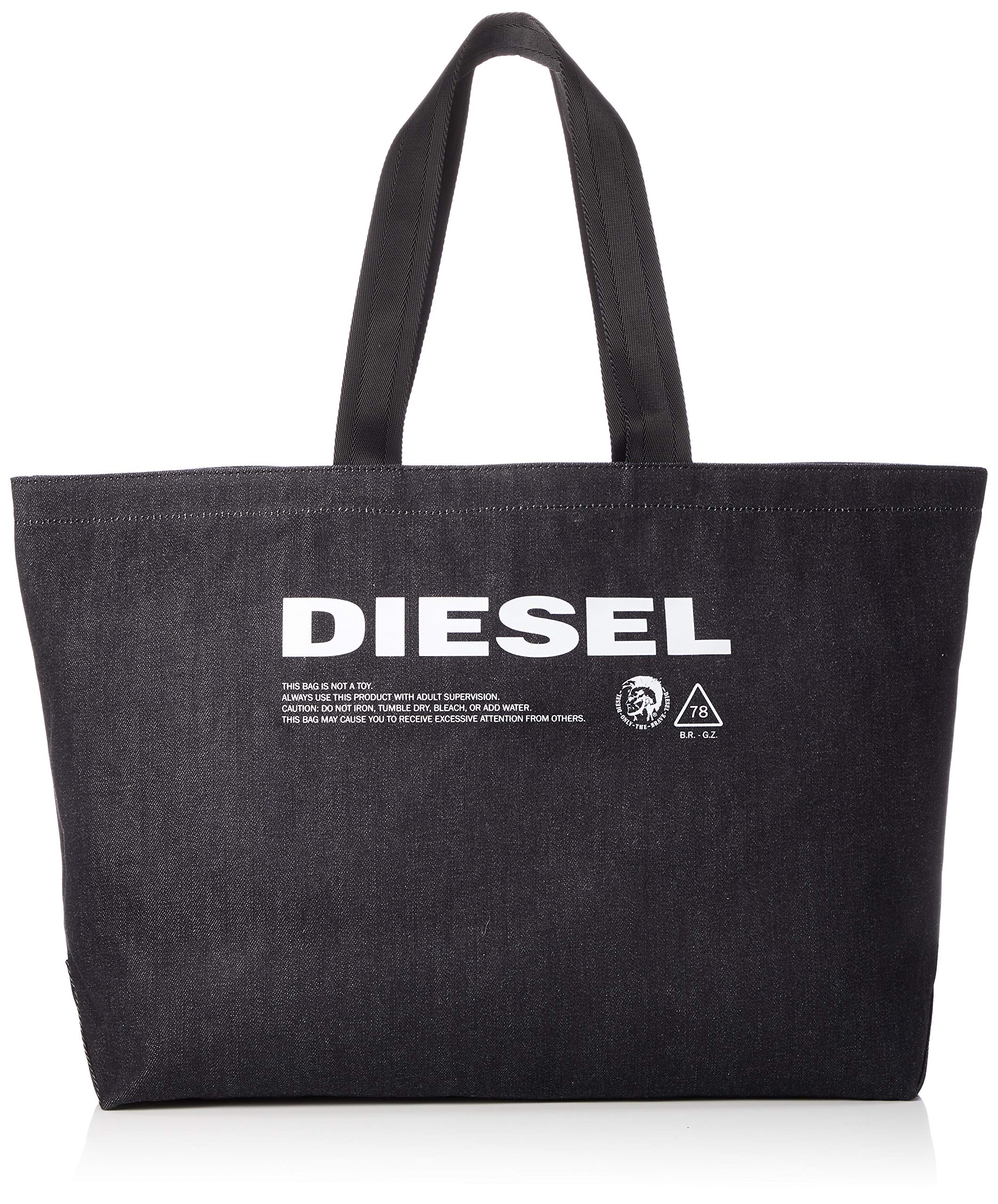 Diesel Men's THISBAGISNOTATOY D-THISBAG Shopper L-Shopping Bag, blue nights UNI