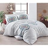 ايبونج هوم حجم مفرد,متعددة,نمط مرسوم,متعدد الالوان - اطقم اغطية سرير