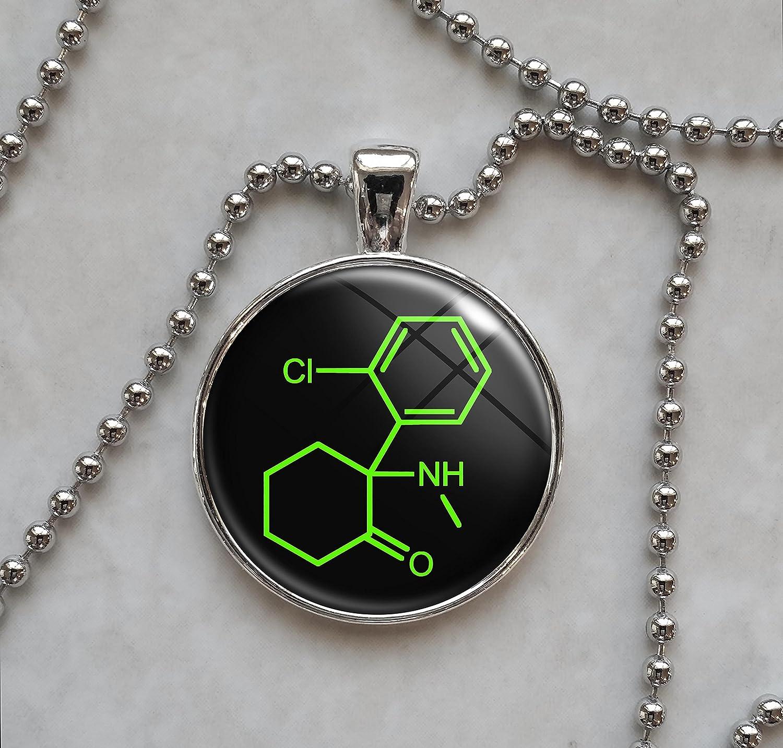 Ketamine Molecule Pendant