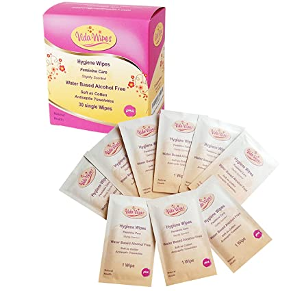 Toallitas húmedas para mujer Higiene íntima Paños de limpieza | Copa antiséptica menstrual y lavado genital