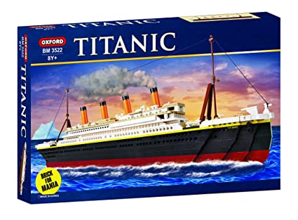Amazon Oxford Titanic Building Block Kit Special Edition Toys