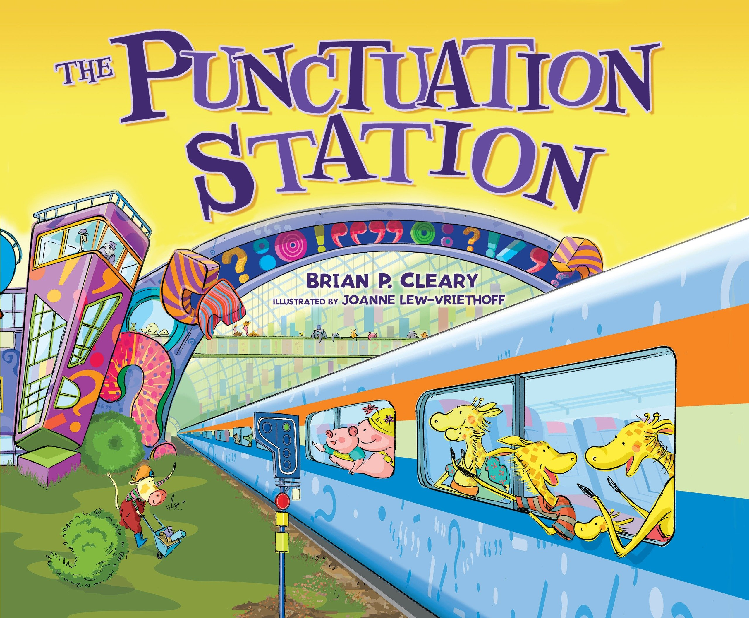 Punctuation Station Brian P Cleary product image