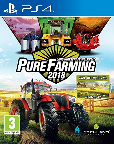 Koch Media Pure Farming 2018 Day One PlayStation 4 Alemán vídeo ...