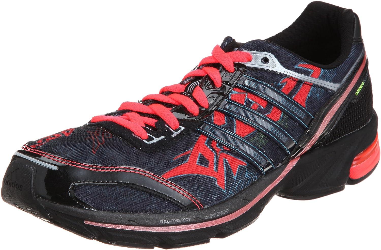 Adidas ADIZERO BOSTON 2 GRAPH Schwartz Rot Blau Herren