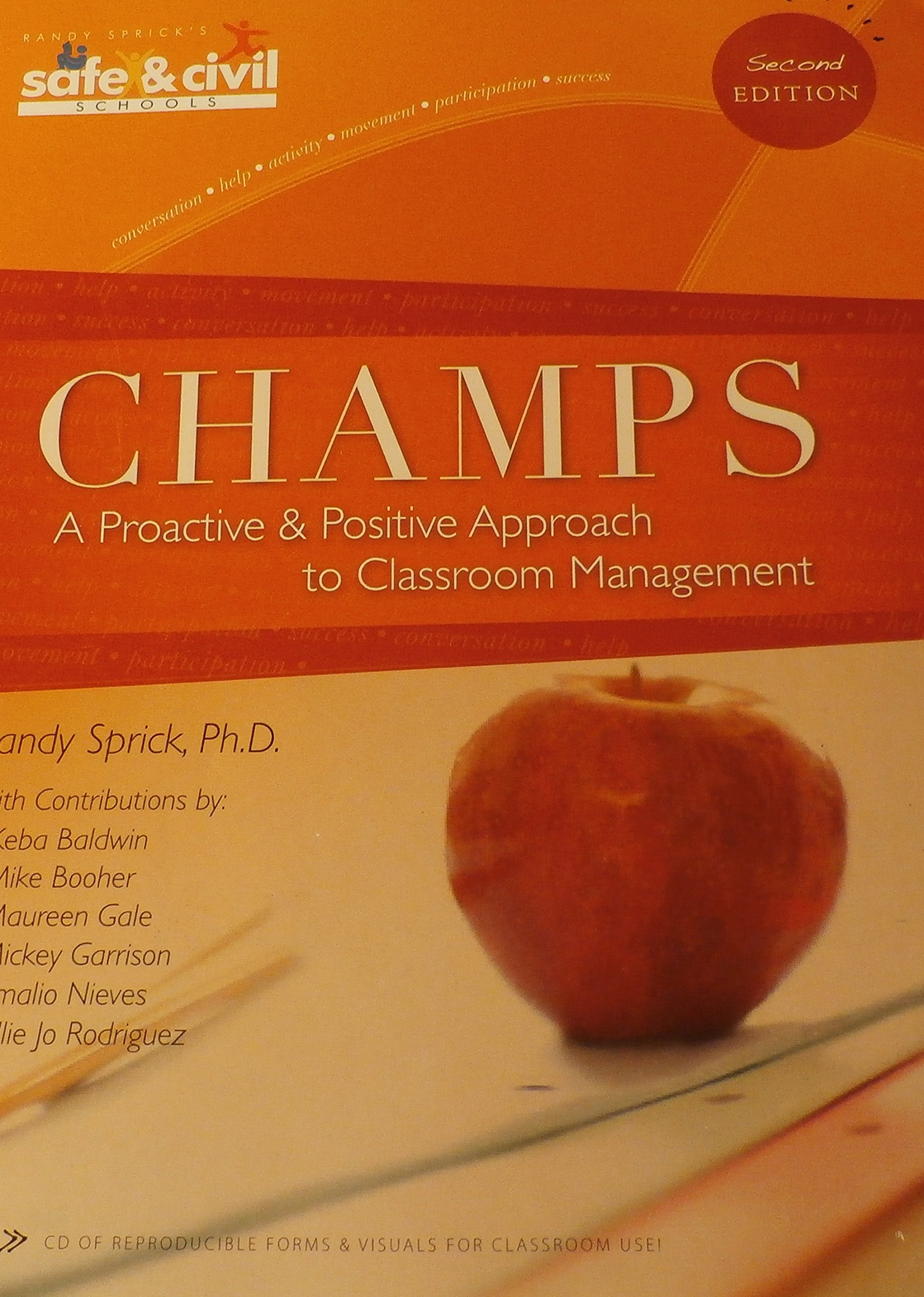 Champs: A Proactive And Positive Approach To Classroom Management, 2nd  Edition: Randy Sprick How To Properly Cite