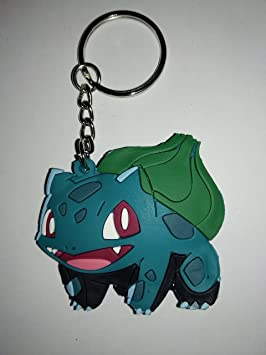 Llavero de Goma Pokémon Doble Cara (Bulbasaur): Amazon.es ...