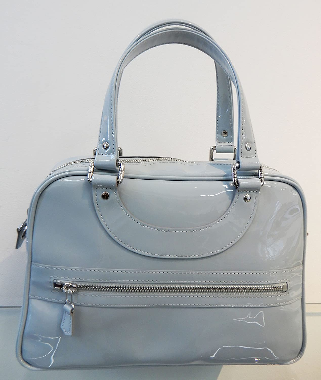 JACQUES LE CORRE ジャックルコー ミニリスボン型 エナメル アイスブルーグレー色 B0795WHY1Z