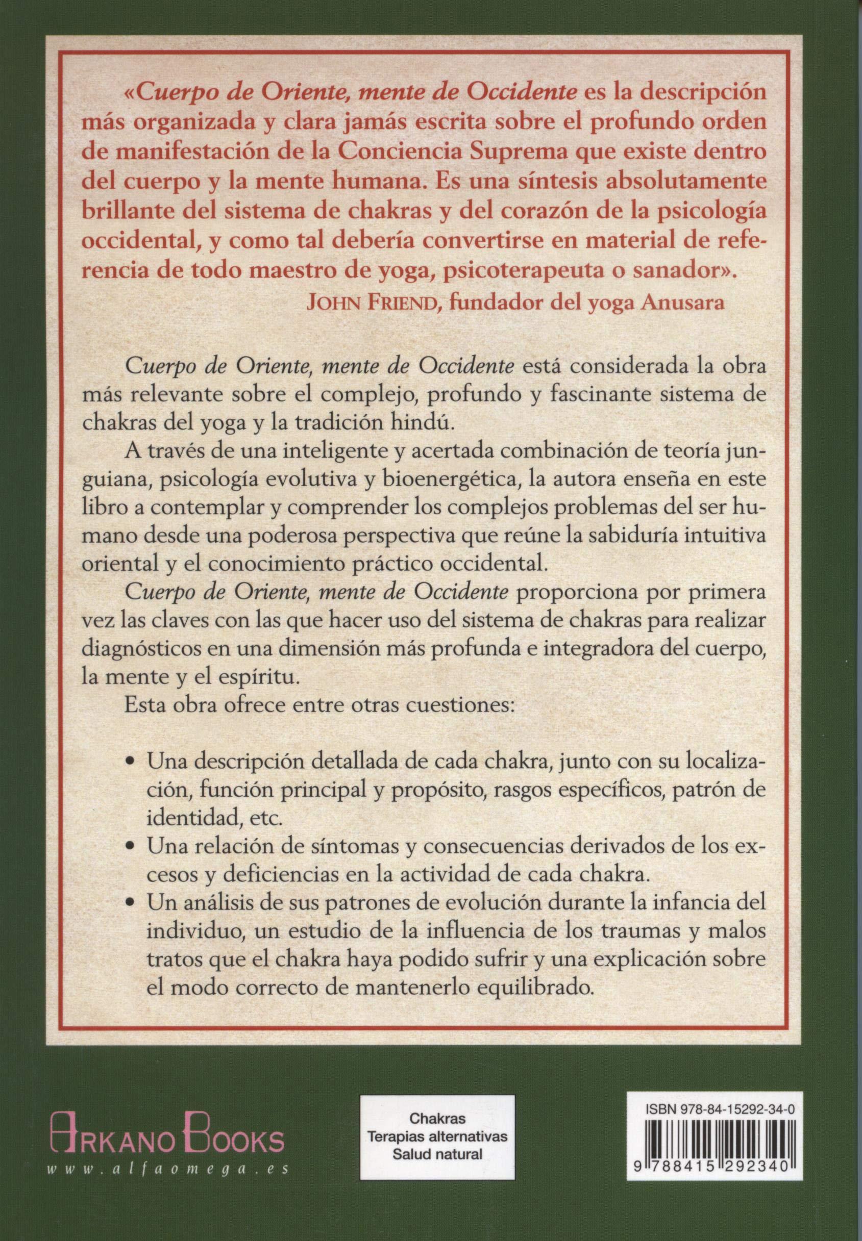 Cuerpo de Oriente mente de Occidente (Spanish Edition ...