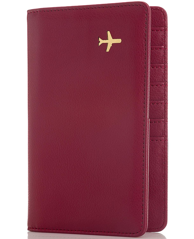 All in One Travel Wallet - 2 Passport Holder + Gift Box/cash tickets cards pen Travel Design TD1975
