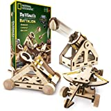 National Geographic 国家地理 da Vinci's DIY 发明套件 - 搭建三款木质桌面型号:Catapult, Bombard and Ballista