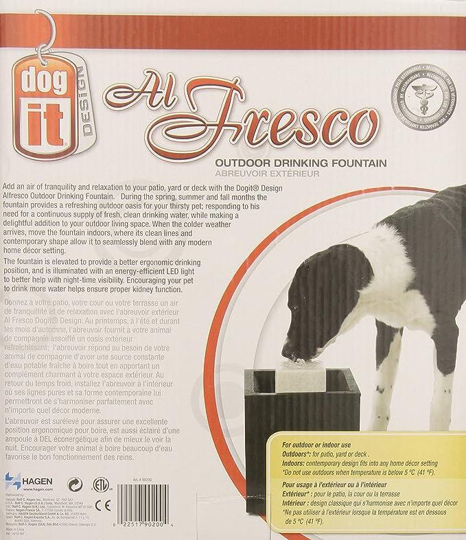 Fuente para perros para beber al aire libre Dogit; 10 litros: Amazon.es: Productos para mascotas