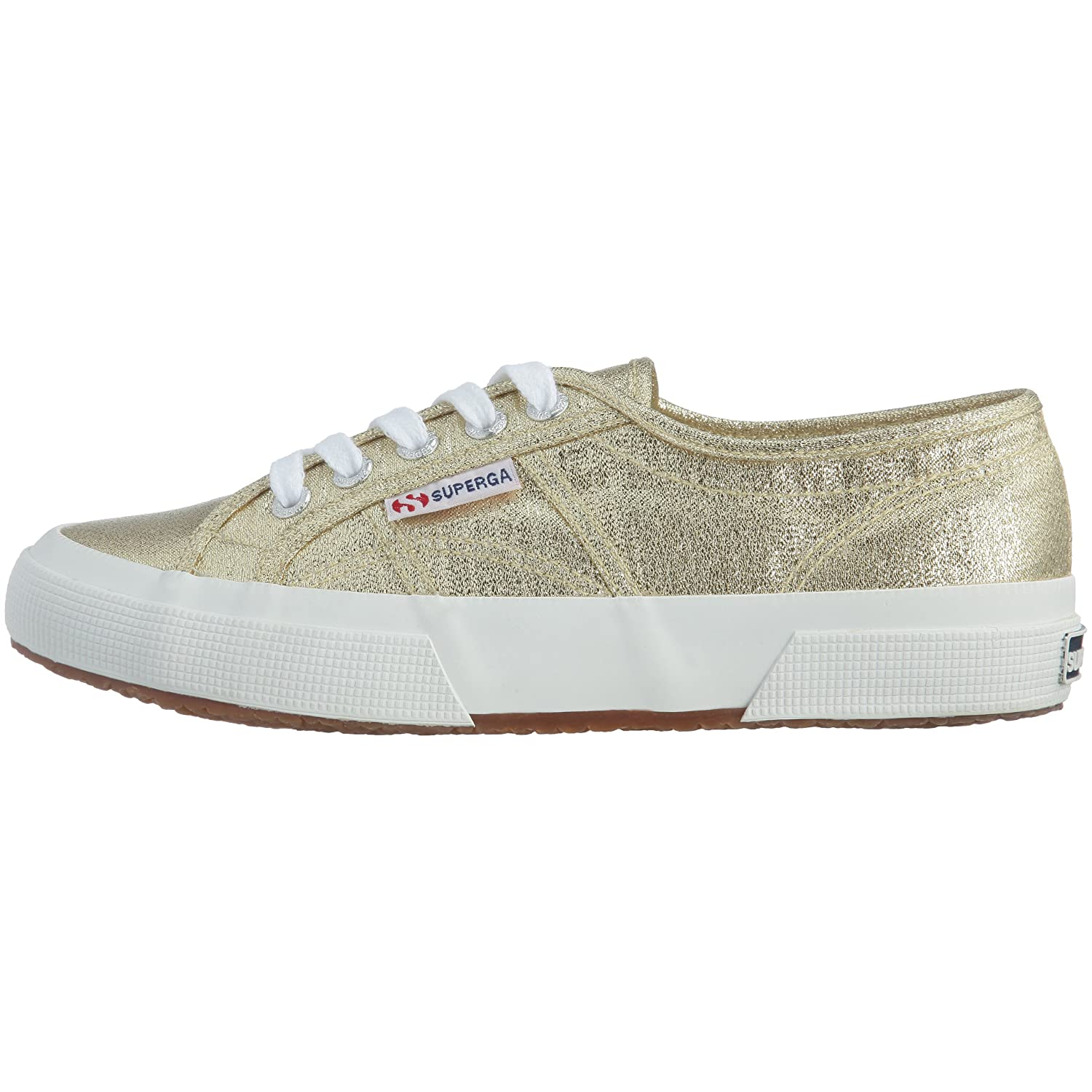 Amazon.com | Superga 2750 Lamew, Womens Low-Top Sneakers, Gold (174), 5 UK (38 EU) | Fashion Sneakers