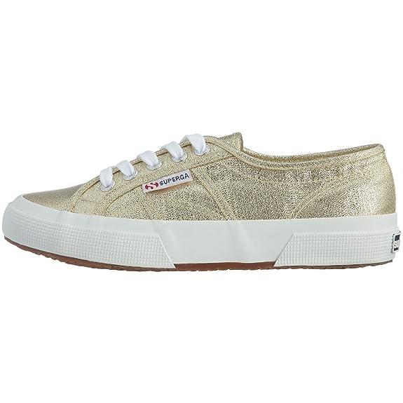 Superga 2750 Lamew, Sneakers Basses Adulte MixteOr (174 Gold), 39.5 EU