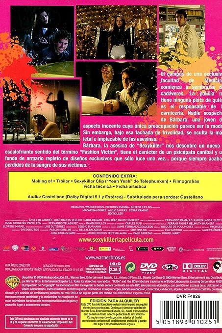 Sexykiller [DVD]: Amazon.es: Macarena Gómez, César Camino, Javier Ambrossi, Miguel Martí: Cine y Series TV