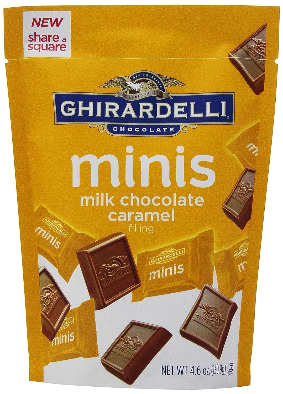 Amazon.com : Ghirardelli Minis Pouch, Chocolate Sea Salt and ...