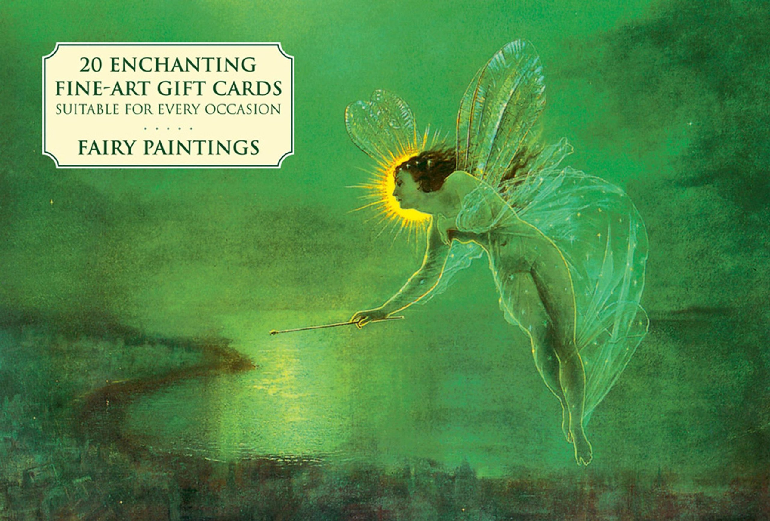 Card Box of 20 Notecards and Envelopes: Fairy Paintings: A delightful pack of high-quality fine-art gift cards and decorative envelopes.