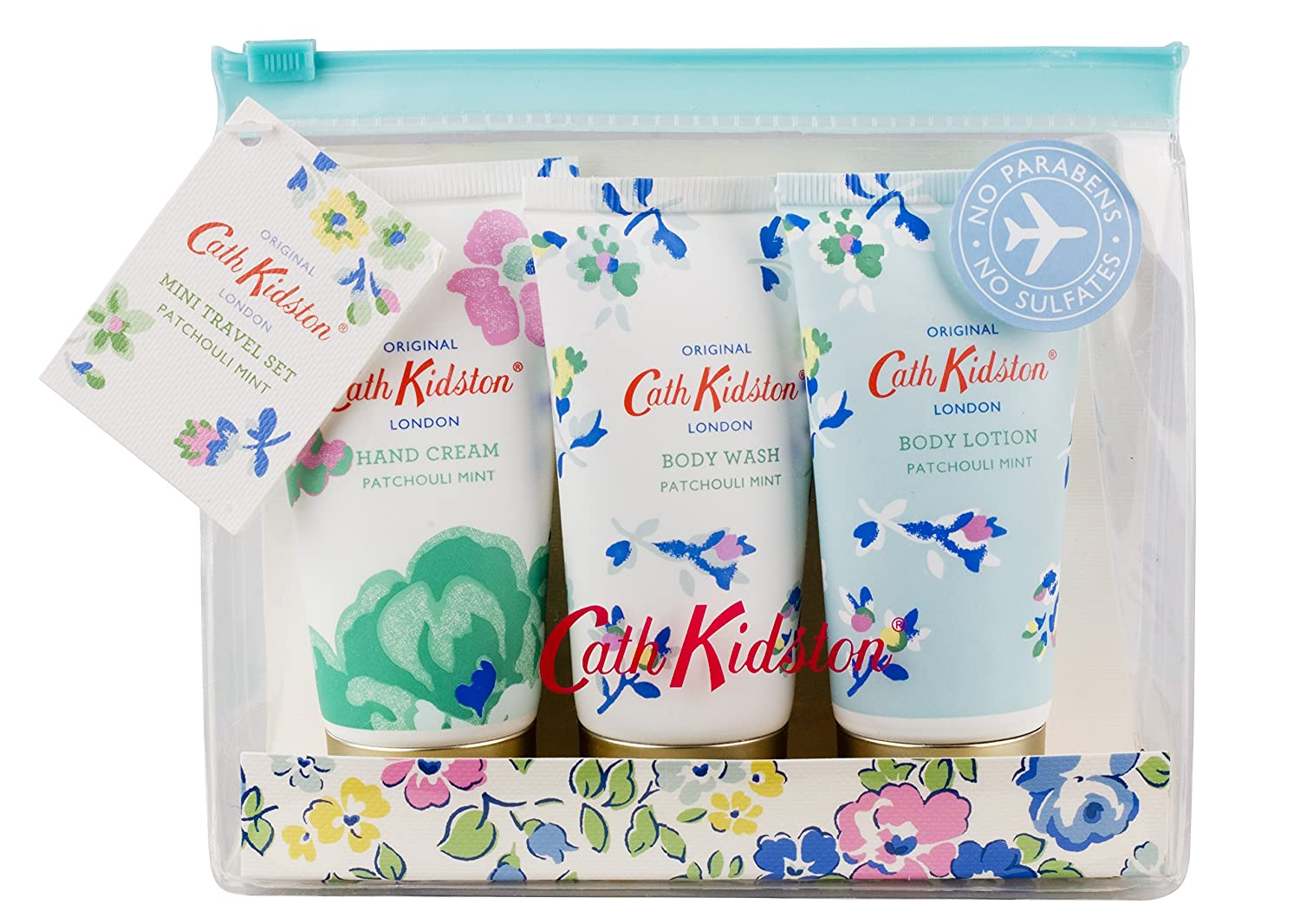Cath Kidston Patchouli Mint Mini Travel Kit Heathcote & Ivory FG2524