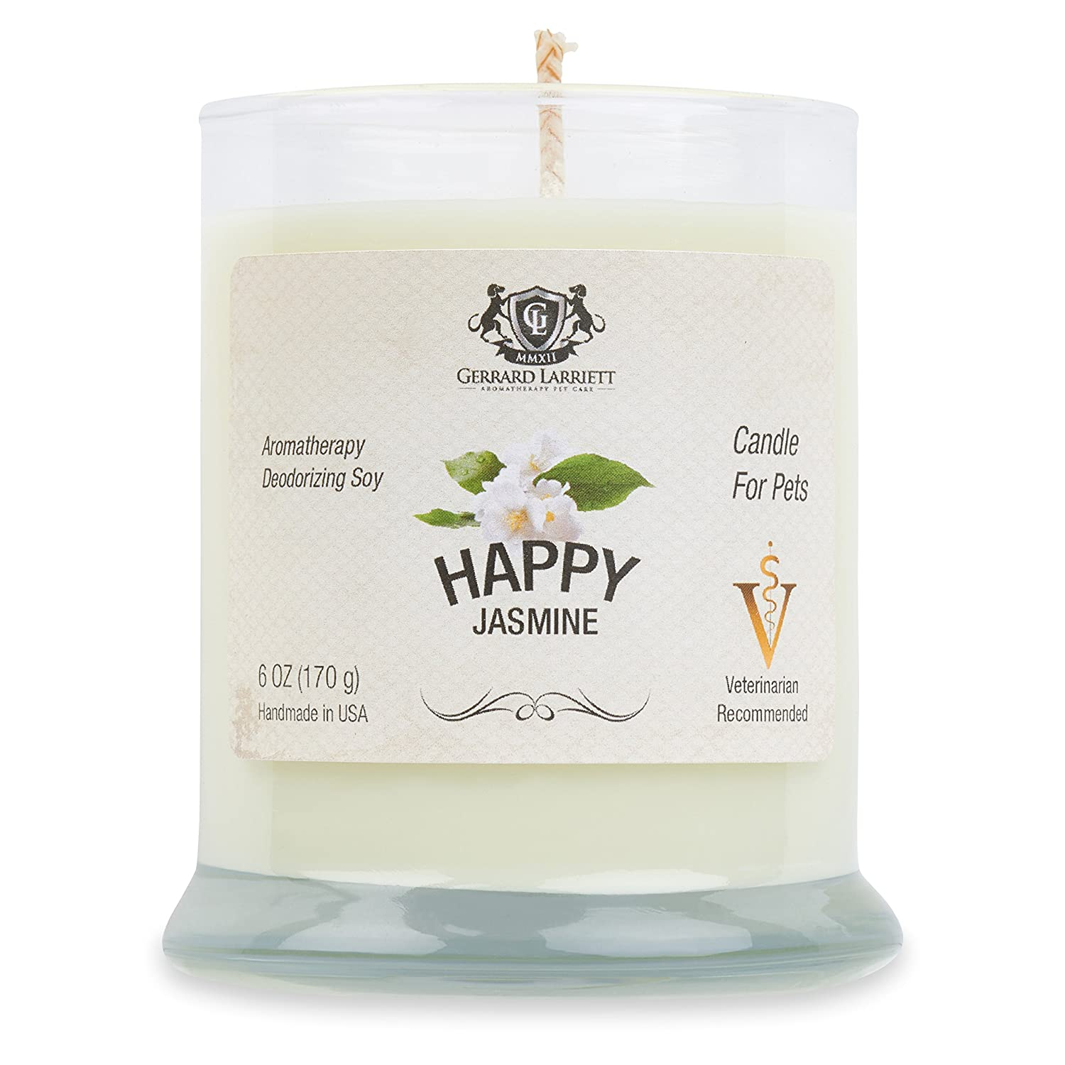 Aromatherapy Deodorizing Soy Candle For Pets (Jasmine) 20999