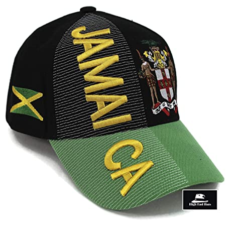 """2aeee71395b7b2 High End Hats """"Nations of North America Hat Collection"""" 3D Embroidered  Adjustable Baseball Cap"""
