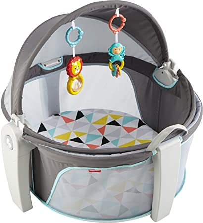 Amazon.com   Fisher-Price On-The-Go Baby Dome, White   Baby b628b411d8b
