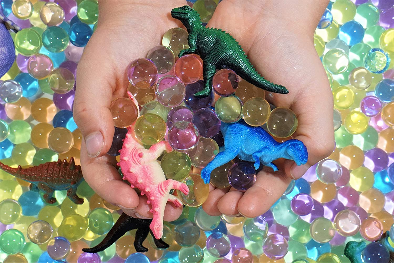Dew Drops Water Beads Sensory Bin Kit Dinosaur Discovery Dinosaur Toys Included