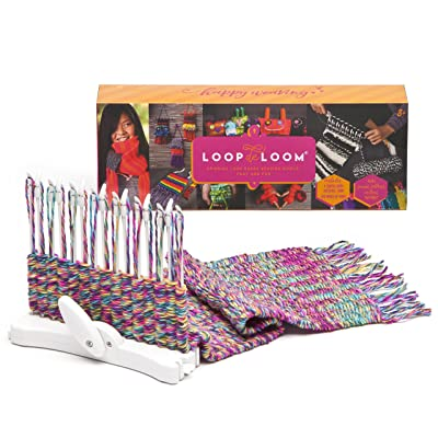 Loopdeloom - Weaving Loom - Learn to Weave - Award-Winning Craft Kit: Toys & Games