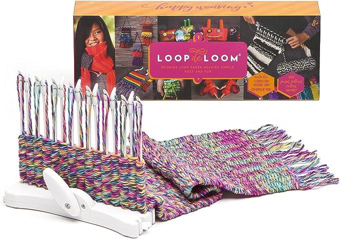Amazon.com: loopdeloom Weaving Loom Kit: Toys & Games