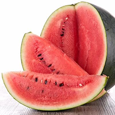 Black Diamond Watermelon Seeds, 50+ Premium Heirloom Seeds, ON Sale!, (Isla's Garden Seeds), Non GMO, 85-90% Germination Rates, Highest Quality : Garden & Outdoor