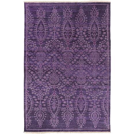 Amazon.com: Surya Antique Purple Area Rug, 2\' x 3\', Dark ...
