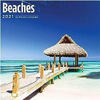 Bright Day Calendars 2021 Beaches Wall Calendar by Bright Day, 12 x 12 Inch, Beautiful Destinations
