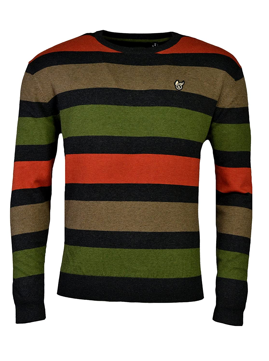 hajo Men's Crew Neck Long Sleeve Jumper
