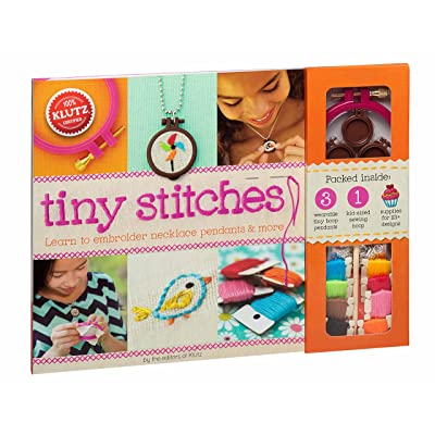 Klutz Tiny Stitches Sewing & Craft Kit: Olbourne, Linda: Toys & Games