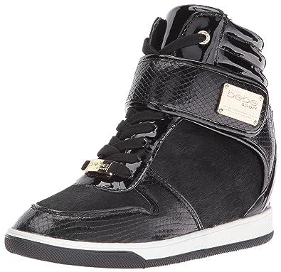b8e892bacb50 bebe Women s Carrier Walking Shoe Black 7 ...