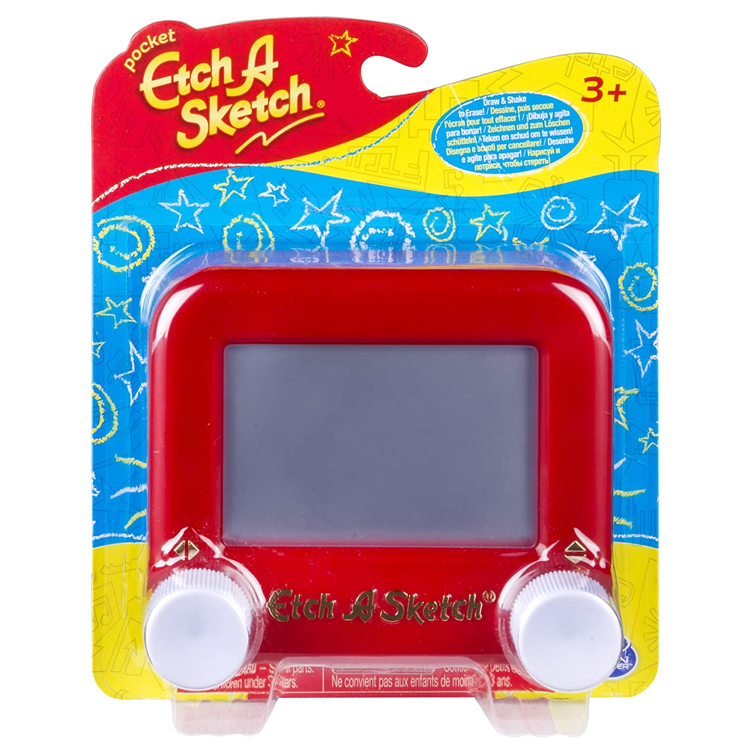 Spin Master Etch A Sketch Classic Mini Pocket Version 20083958