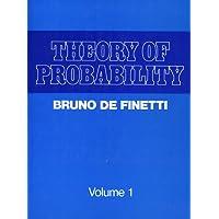 Theory of Probability: v. 1