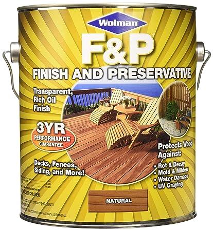 Superb Rust Oleum Wolman Fu0026P 14396 Natural Finish And Preservative