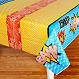 Superhero Comics Party Supplies - Plastic Table Cover