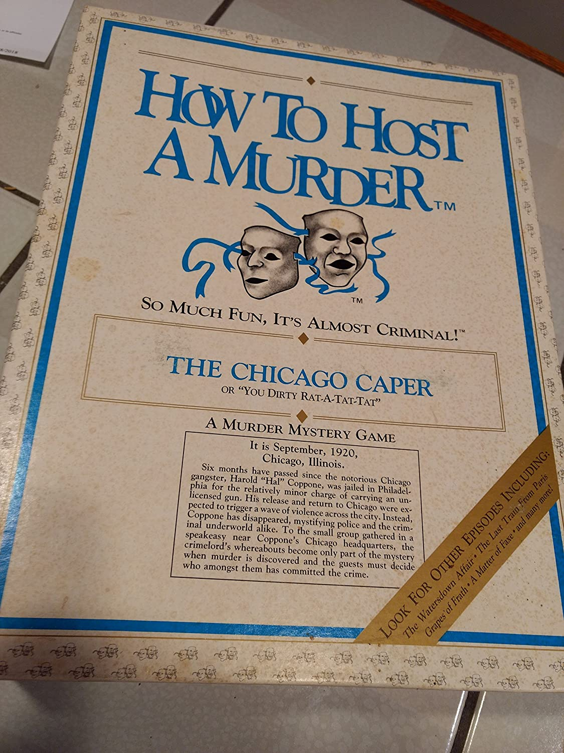 Last Train from Paris Decipher Inc 9 How to Host a Murder