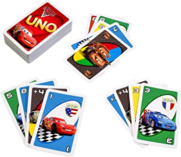 Mattel T8230 Cars 2 - Juego de Cartas UNO: Amazon.es: Juguetes y juegos