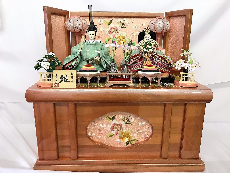 ひな人形 芥子親王 収納飾り雛 No,102 (パールピンク)極上仕立雛   B079XWZSM9